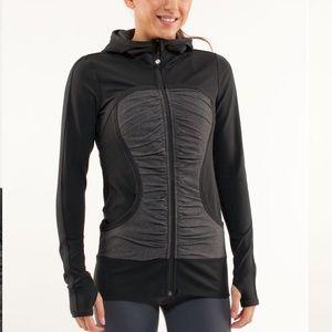 Lululemon Pure Balance Zip Up Hooded Jacket Size 4